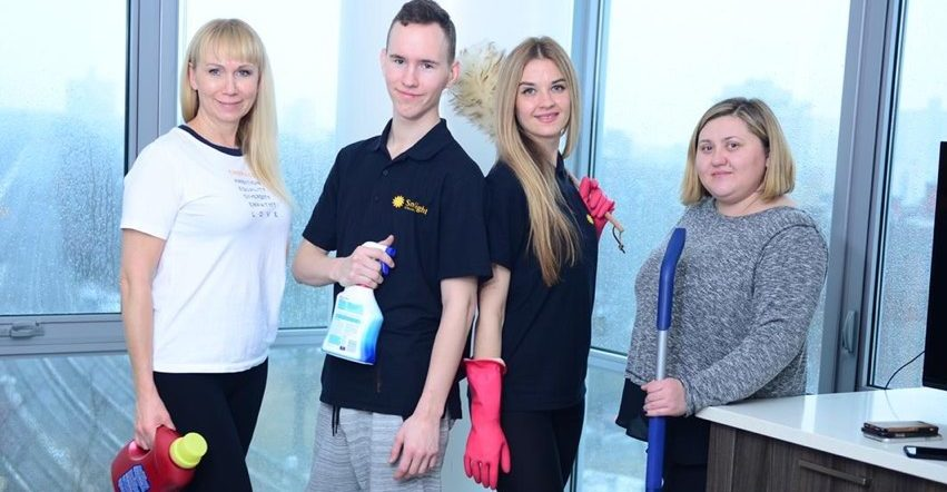 Sunlight Cleaning company maids