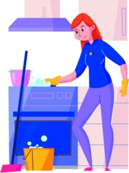 deep cleaning service icon