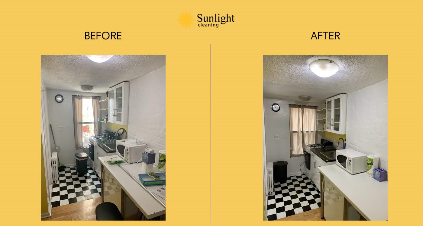 sunlight cleaning service before afterwork example series n1