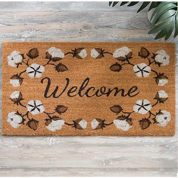Add a welcome mat