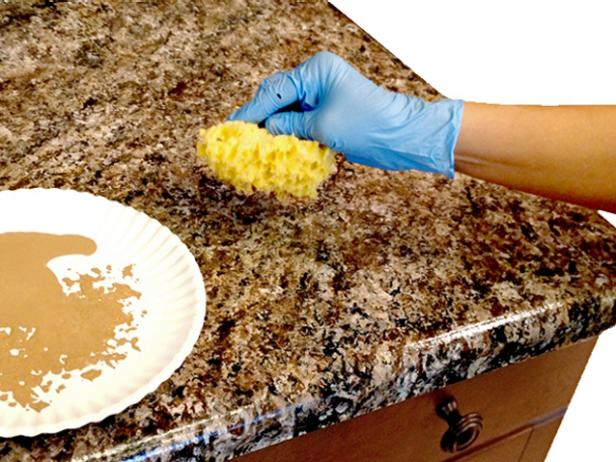 Sponge countertops