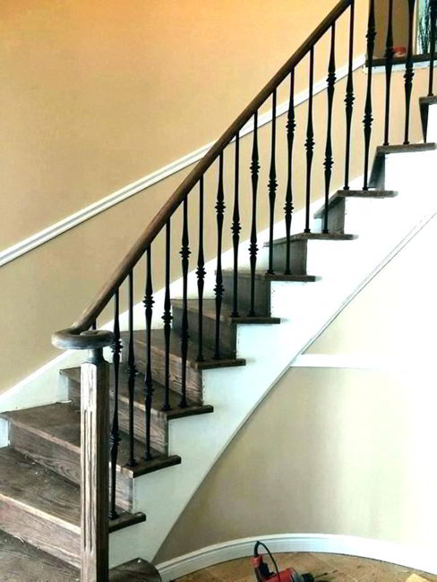 clean banisters