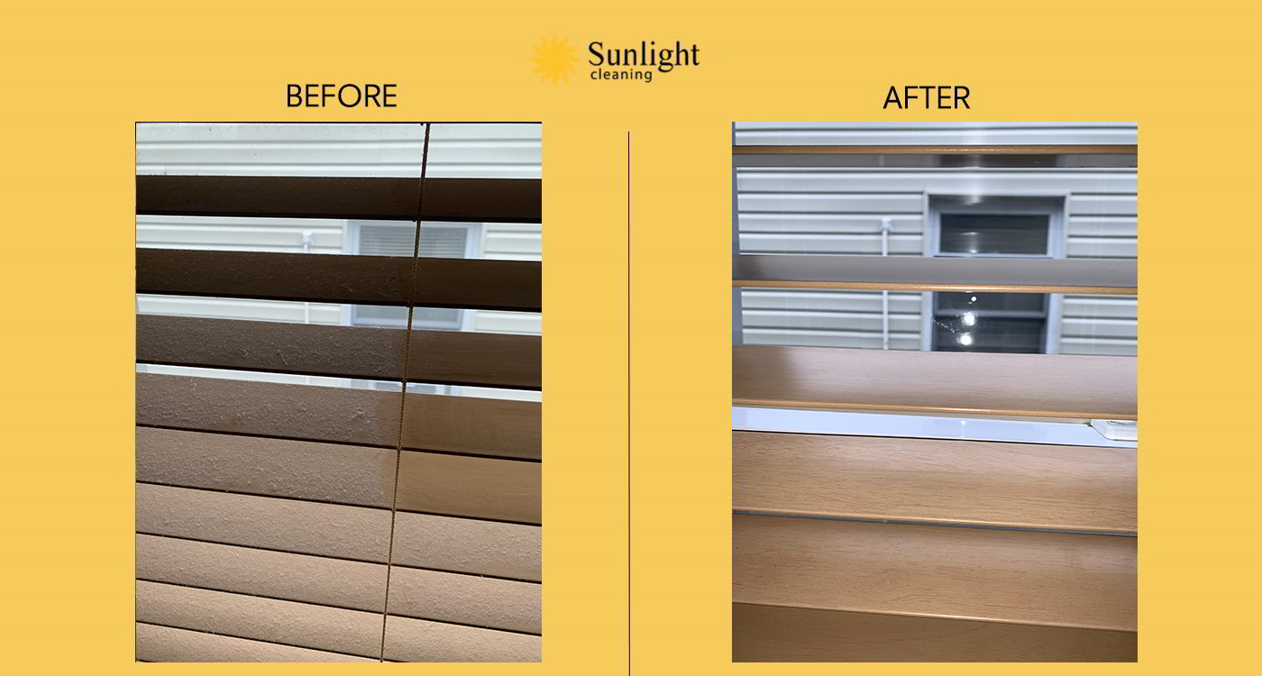 sunlight cleaning before and after work #10