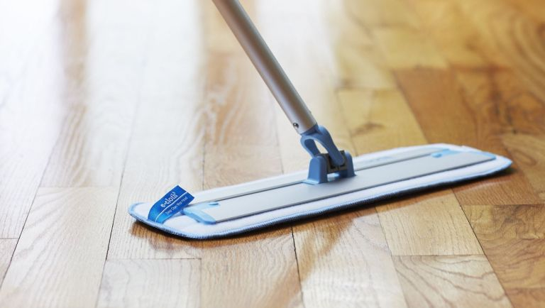 Mop all the hard floors -spring cleaning tips