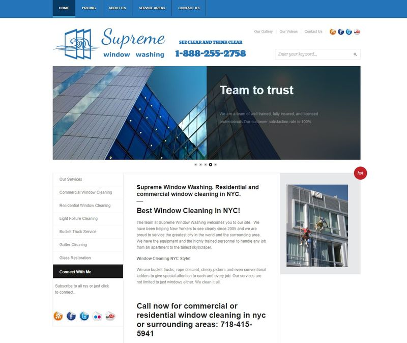 supreme window cleaning