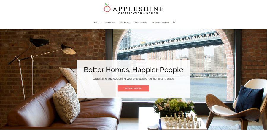 appleshine New York home organizers