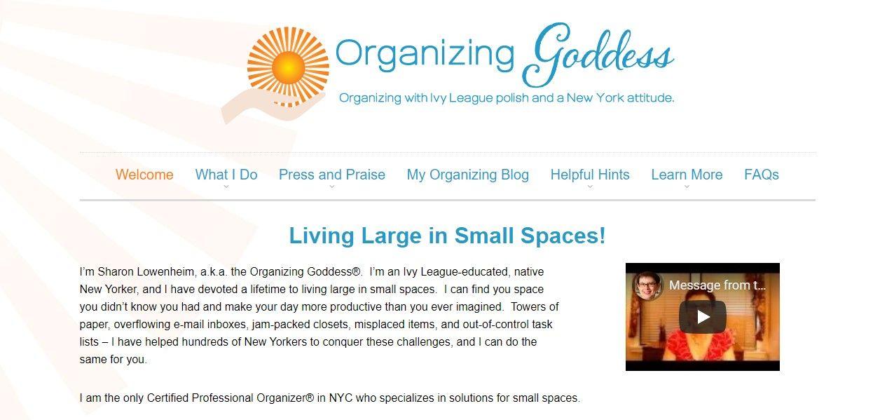 organizing Goddess NYC