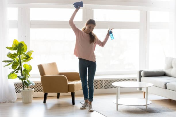 post construction cleaning tips - completion of cleaning