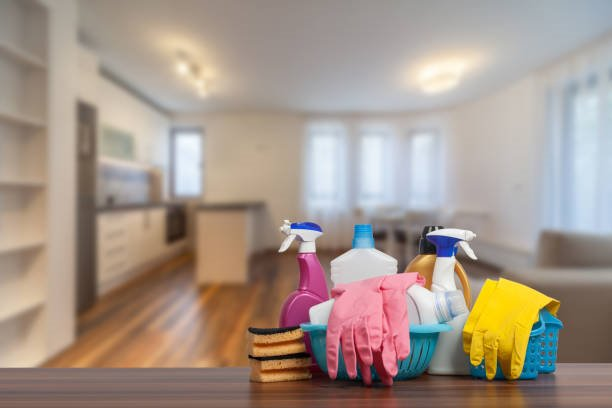 preparation of cleaning tools for post construction cleaning process