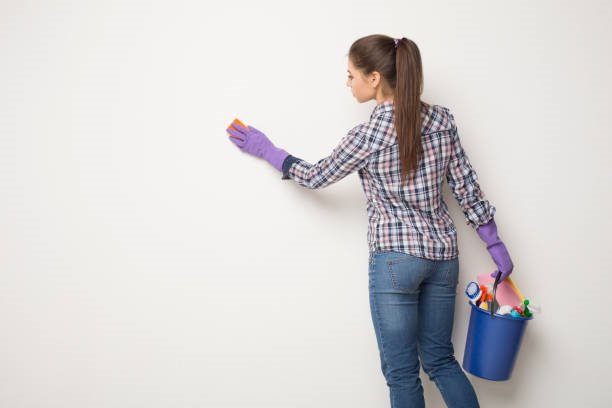 wall cleaning when make post construction cleaning